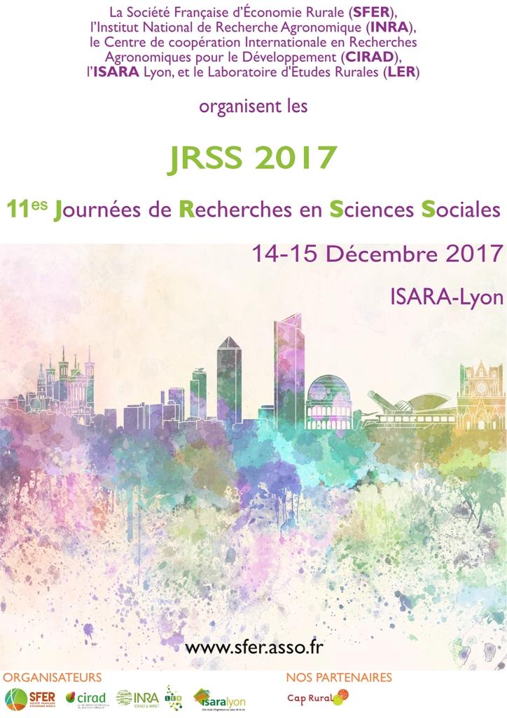 Affiche des JRSS 2017